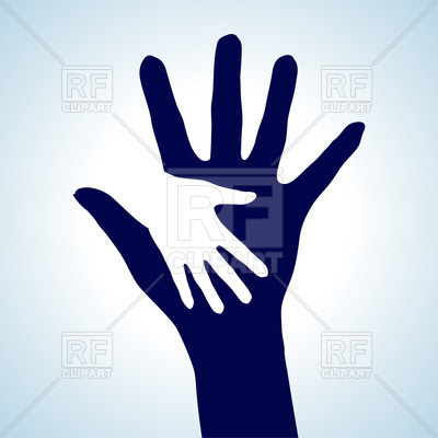Helping Hands Vector Icon Free