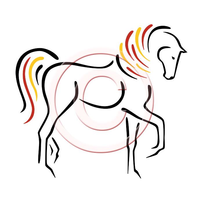6 Horse Logo Design Images