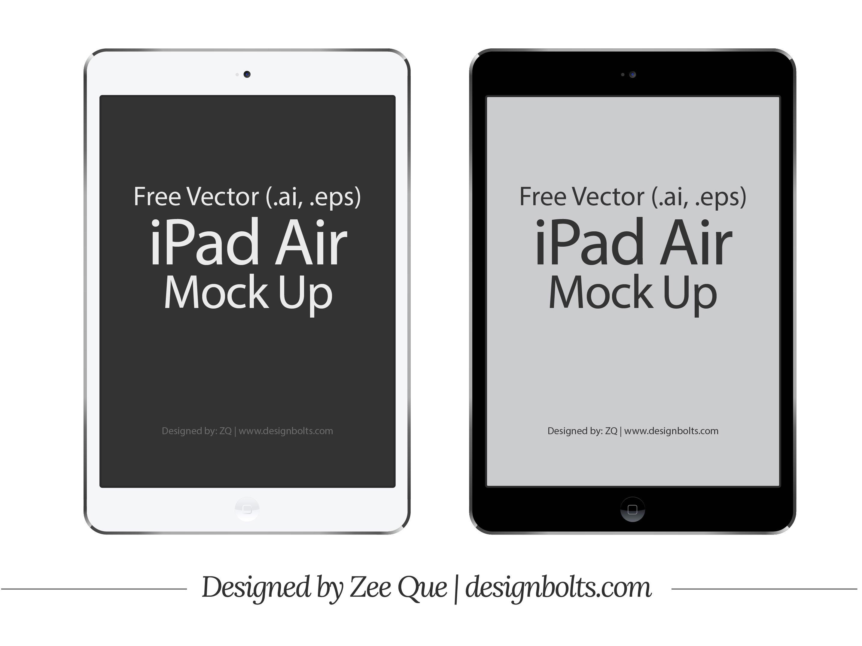 Illustrator Vector iPad Air