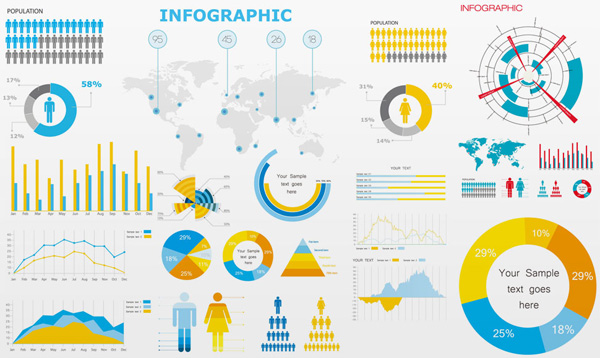 13 GDP Free Infographics Images