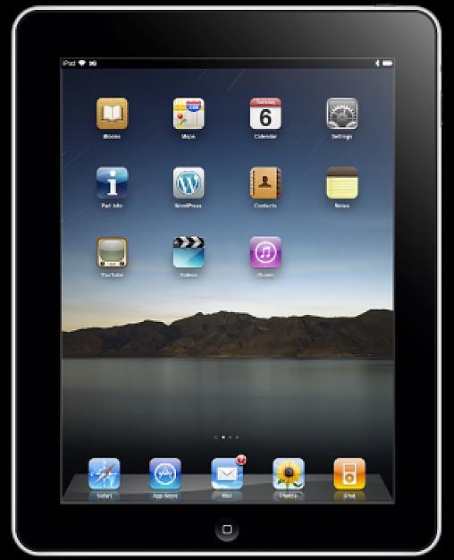 iPad Vector Icon