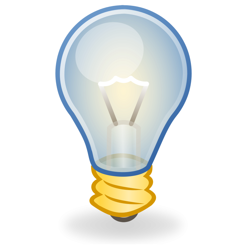 8 Light Bulb Icon Vector Images
