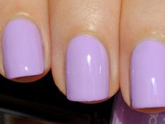 10 Light Purple Gel Nail Designs Images