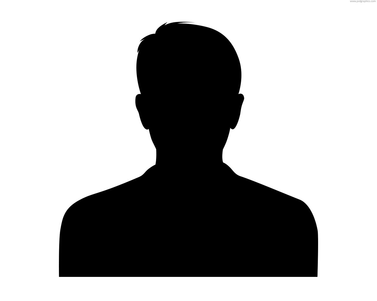 Male Silhouette Head