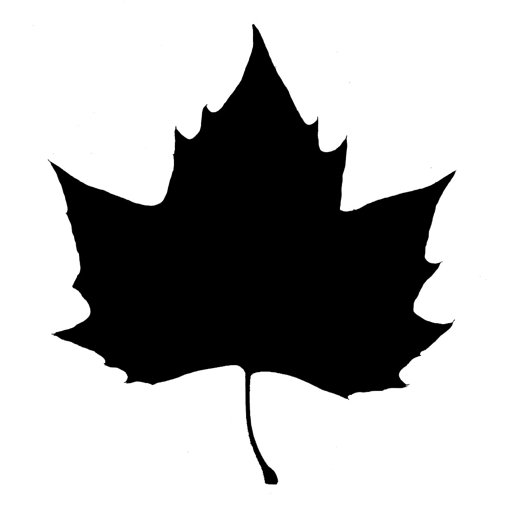 18 Oak Leaf Silhouette Vector Images - Leaves Silhouette ...