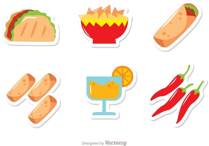 Mexican Food Free Vector Graphics