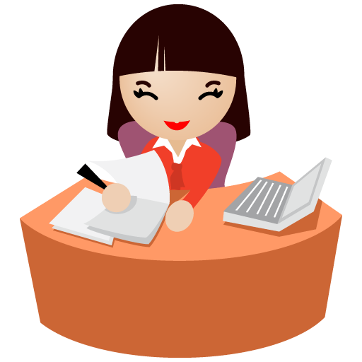 Office Secretary Clip Art