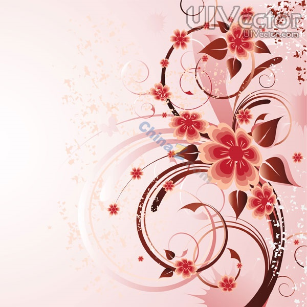 16 Vector Rose Flower For Wallpaper Images