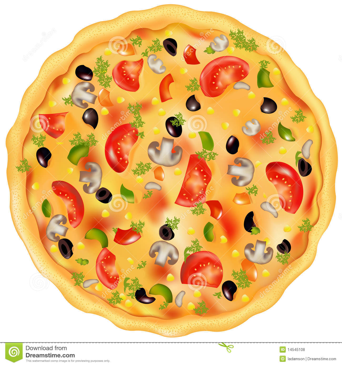 10 Pepperoni Pizza Vector Free Images