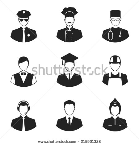 Professional People Icons