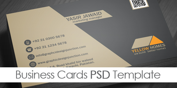 7 Home Business Card PSD Images