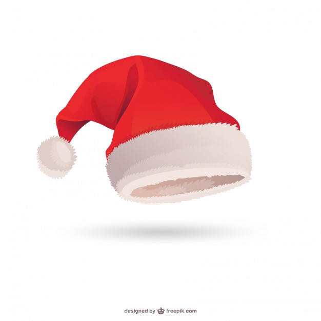 5 Santa Hat Vector Images