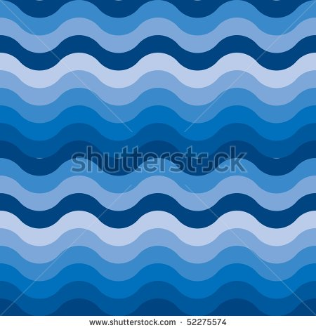 Seamless Ocean Water Waves Wallpaper