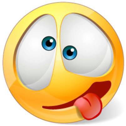 13 Crazy Face Emoticon Images