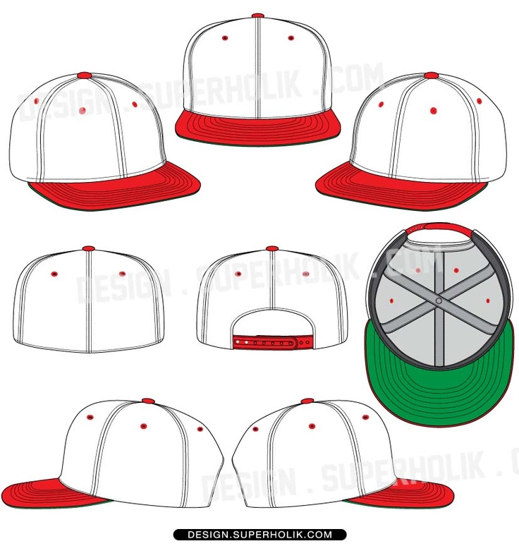17 DIY Snapback Hat Template Images