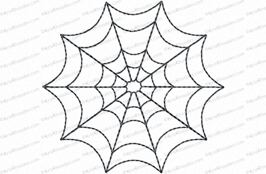 10 Spider Web Designs Images