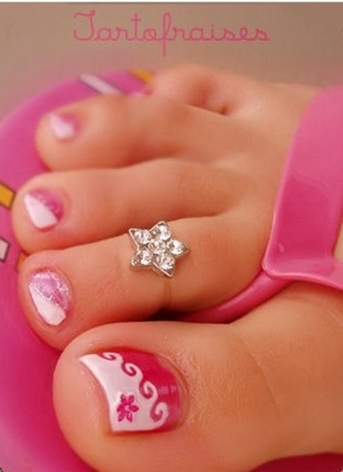 Spring Toe Nail Designs