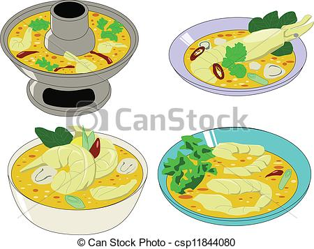 Thai Food Clip Art
