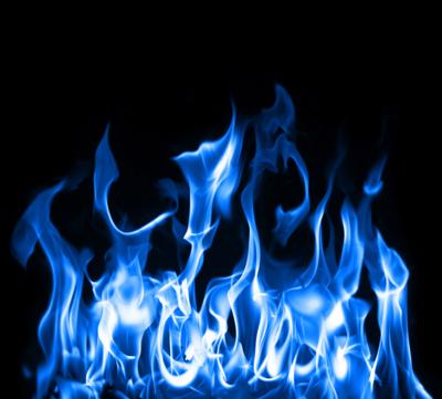 13 Blue Flames PSD Images