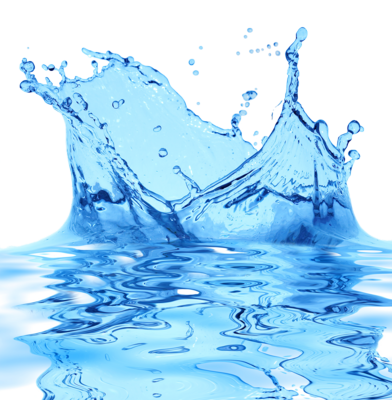 10 PSD Water Splash Drops Images