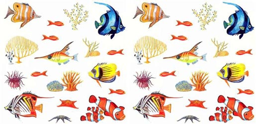 Tropical Fish Tattoo Designs