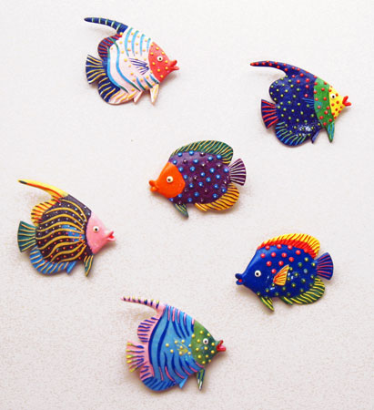 Tropical Fish Wall Decor