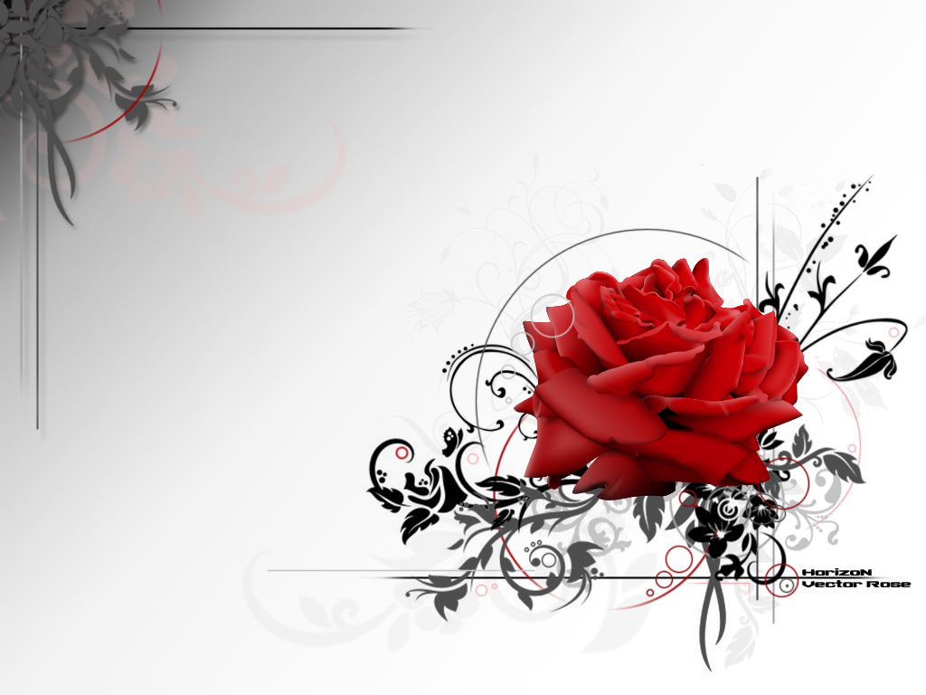10 Vector Rose Clip Art Images