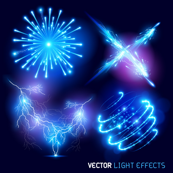 13 Vector Photoshop Light Effects Images