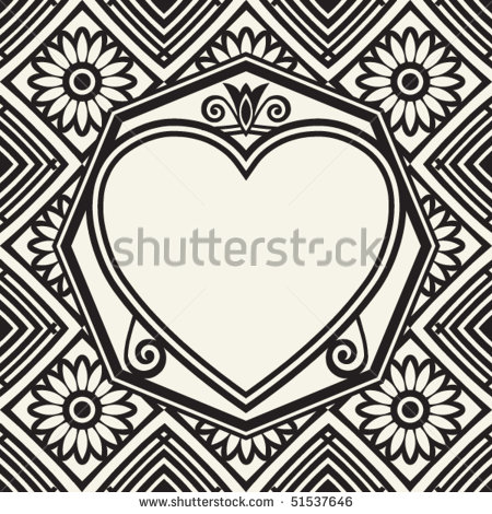 Vector Heart Flourish