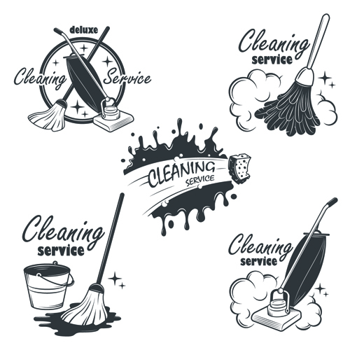 Vintage Style Home Decor Ideas Sydney Cleaning Services: Free Logos Cleaning Services, Cleaning Person Logo And Vector