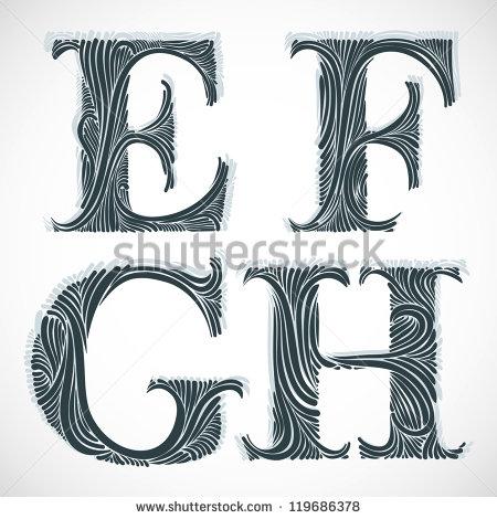 10 G Vintage Fonts Images