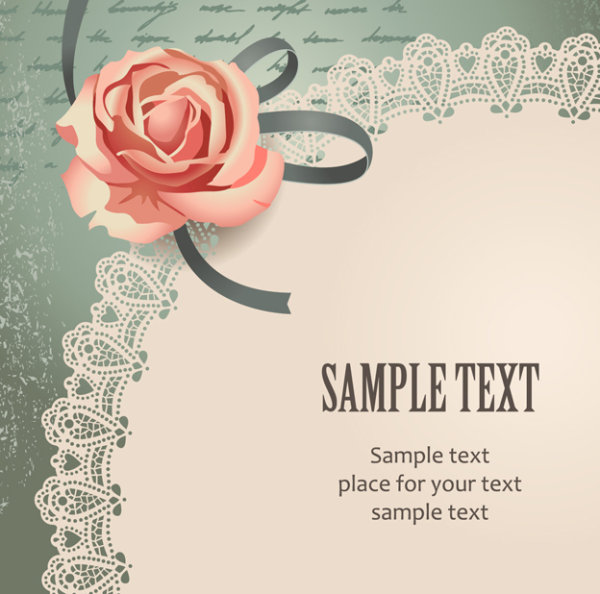 12 Vintage Rose Graphics Free Vector Images