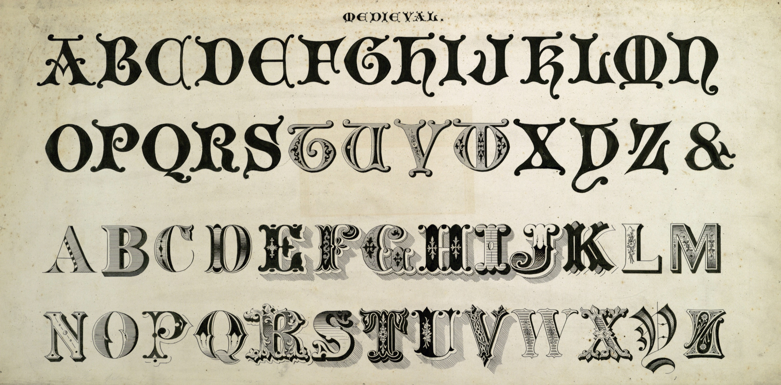 Vintage Typography Fonts
