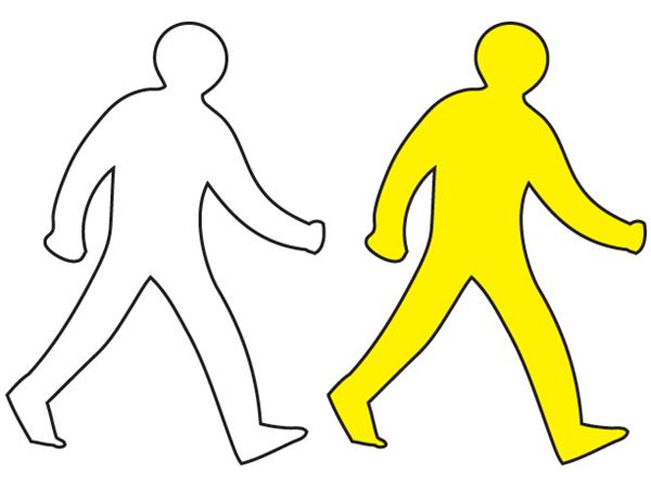 Walking Man Symbol