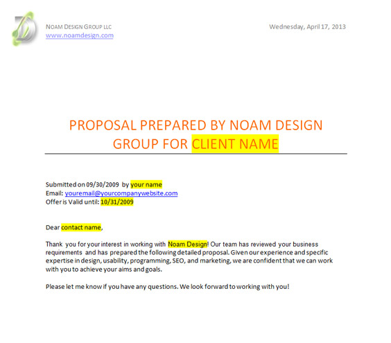 17 Developing A Design Proposal Images - Shipley Proposal ...