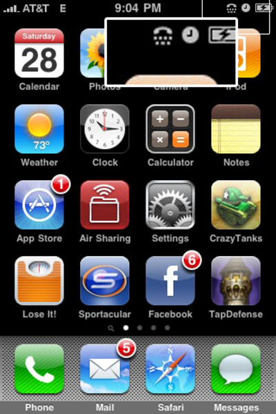 15 Iphone Phone Icon Top Right Images Iphone Icons At Top Of