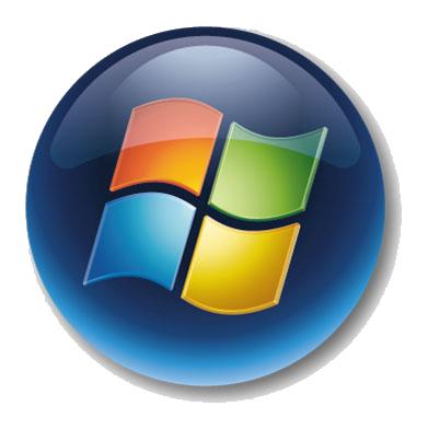 Windows 7 Start Menu Button Icon