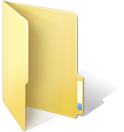 Windows 8 Desktop Folder Icons