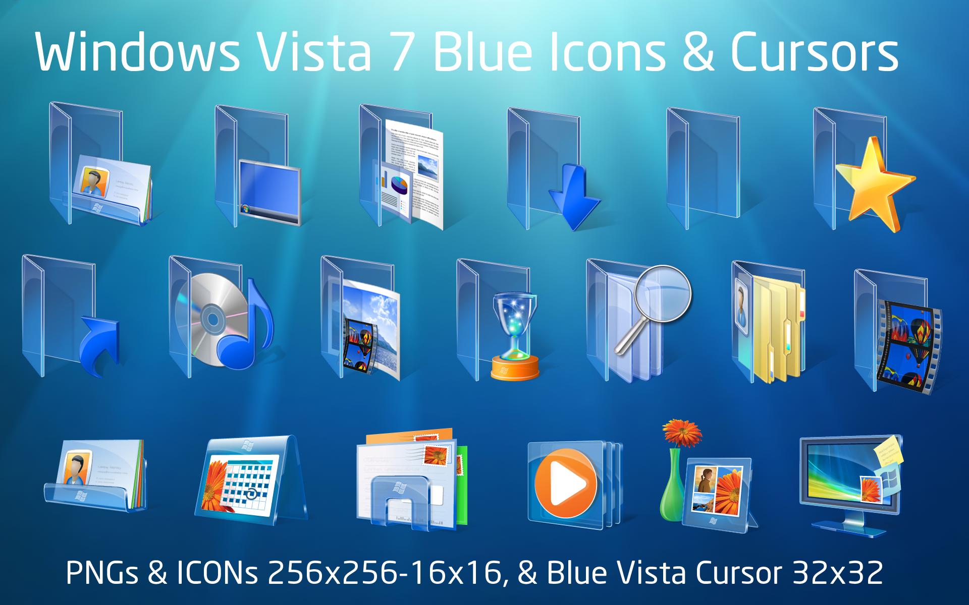 8 Windows Vista Icon Pack Images
