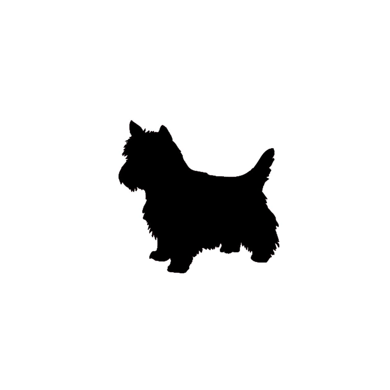 14 Small Pets Silhouettes Vector Images