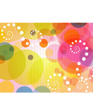 Abstract Colorful Vector Graphics