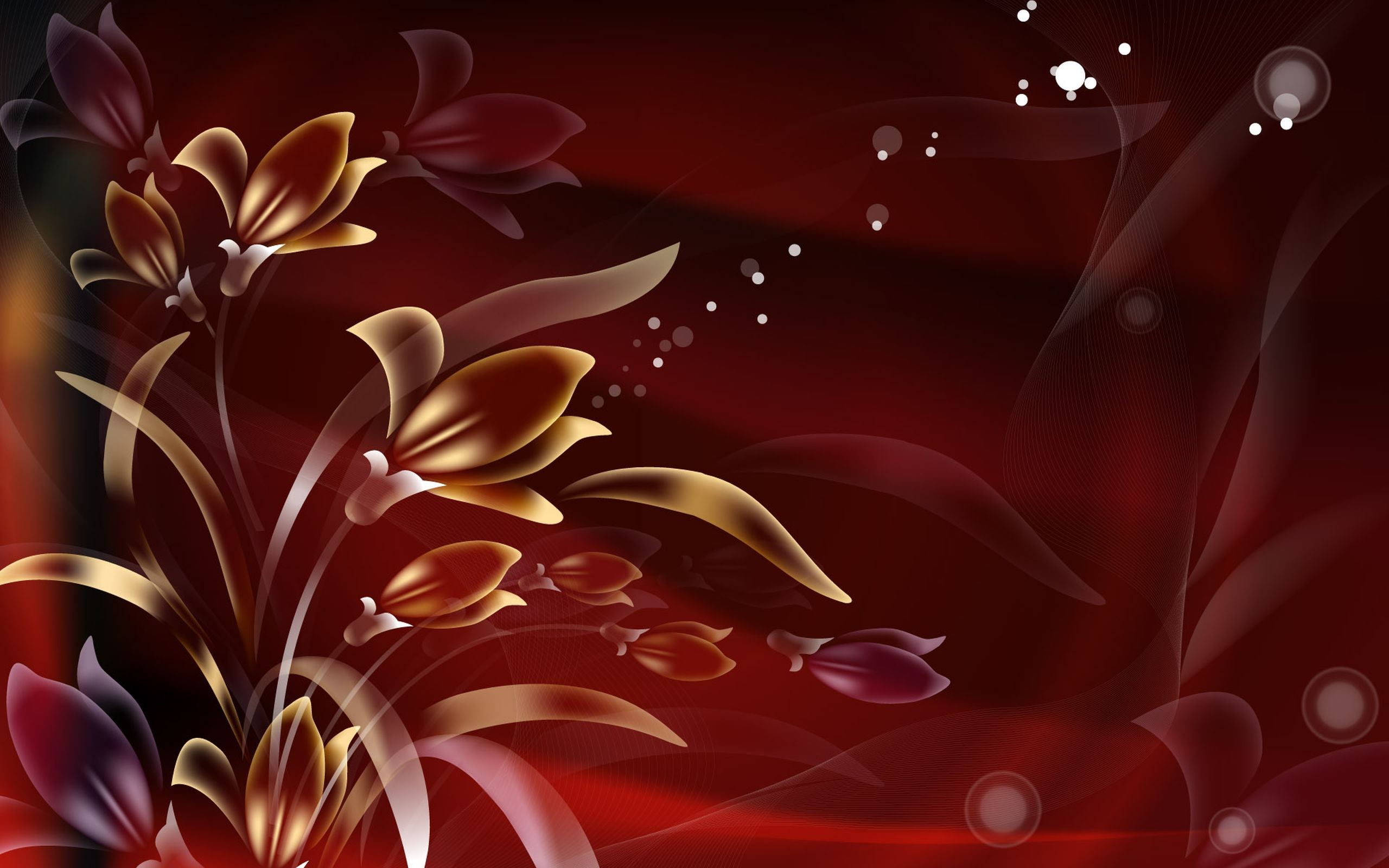 Abstract Flower Desktop Backgrounds Free