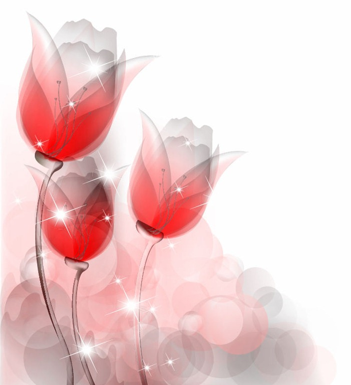 Abstract Tulip Clip Art