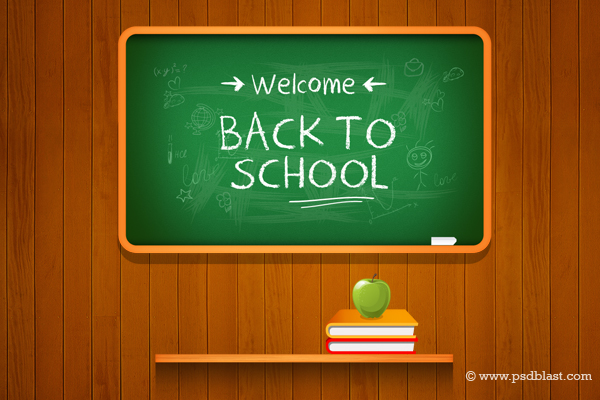 12 Back To School Free PSD Images