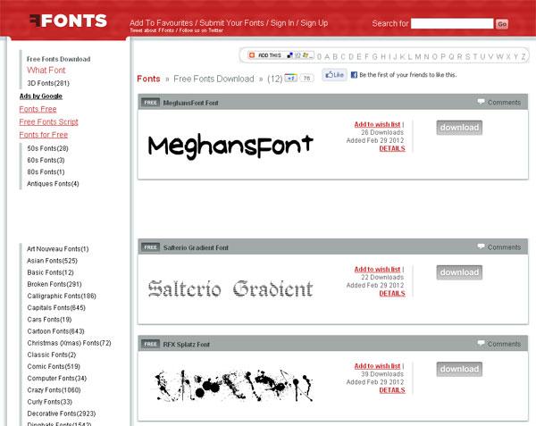 Best Free Font Downloads