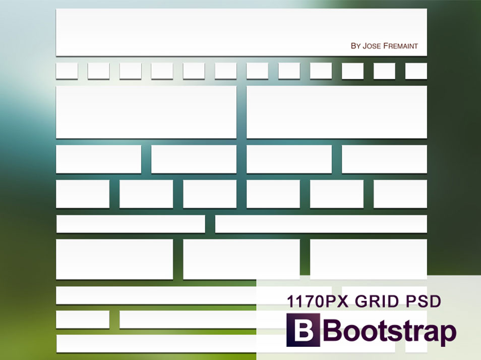 16 Bootstrap 3 PSD Images