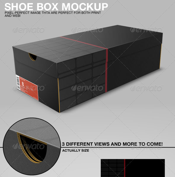 Box Mock Up Template