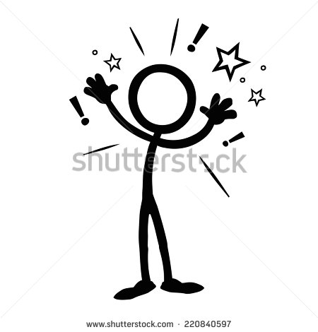Business Stick Figure Vector