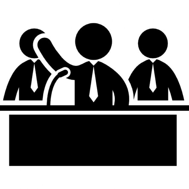 Businessman Behind Desk