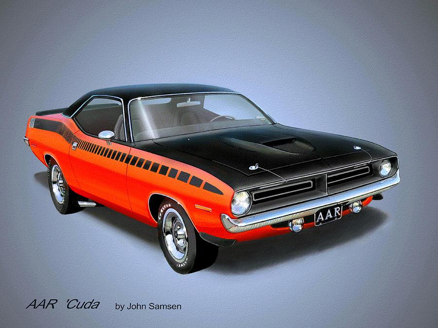 Classic Muscle Car Art